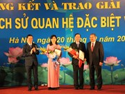 Winners of Vietnam-Laos friendship contest announced