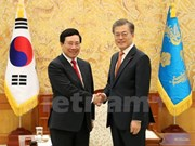 Deputy PM Minh meets with RoK leaders, businesses