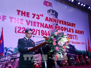 Founding anniversary of Vietnamese army observed in Laos