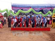 Ninh Thuan: Work begins on hi-tech animal feed production plant