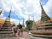 Thailand sees tourist arrivals up 23.2 percent in November