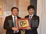 CPV Central Committee Secretary visits Japan