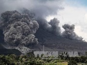 Indonesia's Sinabung volcano erupts again