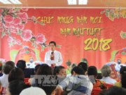 Overseas Vietnamese in Angola meet on New Year 2018