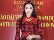 Ao dai collection opens Paris Fashion Week-Haute Couture 2018