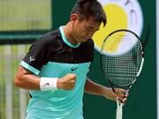 Nam in quarters of HK F6 tennis tournament