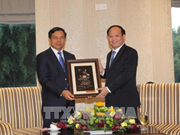 HCM City treasures friendship with Lao localities