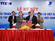 Vietnam News Agency signs cooperation agreement with telecom group