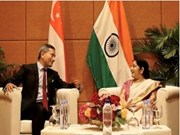 India, Singapore discuss trade partnership