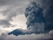 Volcano in Bali island active with 2,500m ash column