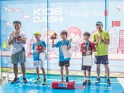 Kids' Dash marathon attracts 220 participants