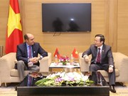NA Vice Chairman meets with Moroccan delegates