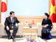 NA Chairwoman welcomes Japanese parliamentary delegation