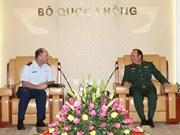 Adjutant General of Oregon National Guard welcomed in Hanoi