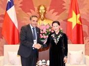 Top legislator of Vietnam receives leader of Chile's lower house
