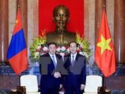 President greets Mongolian top legislator
