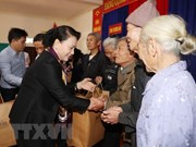 NA Chairwoman pays pre-Tet visit to Ha Tinh province