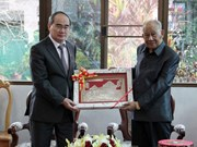 HCM City's top leader continues working visit to Laos