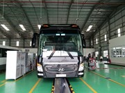 Thaco opens smart truck, bus showroom