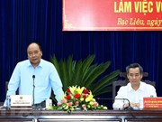 PM urges Bac Lieu to focus on high-tech shrimp farming