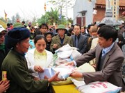 Government allocates rice to residents in four provinces