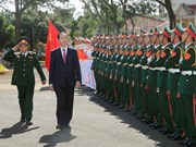 President pays pre-Tet visit to armed forces in Gia Lai