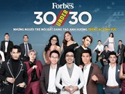 Forbes Vietnam announces 30 Under 30 list