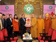 Hanoi leader extends New Year wishes to Buddhists