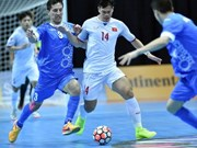 Vietnam loses to Uzbekistan 1-3 at Asian futsal event