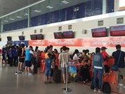 Noi Bai airport increases services during Tet holidays