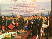 Australia grants Vietnam 24 million USD for transport development