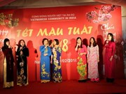 Vietnamese expats in India, Russia celebrate Tet