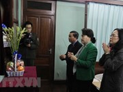 NA leader offers incense to President Ho Chi Minh