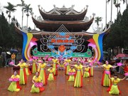 Numerous festivals kick off amid Tet atmosphere