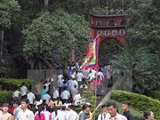 About 1 million tourists visit Hung Temple relic site during Tet