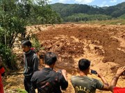 Indonesia landslide leaves at least 5 dead, 15 missing
