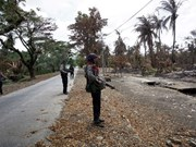 Series of bomb blasts hit Myanmar's Rakhine state