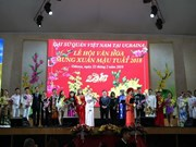 Spring festival kicks off Vietnamese culture year in Ukraine