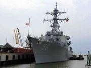 US naval ships to visit Da Nang