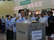 Cambodia holds Senate election