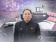 DPRK high-level delegation comes to RoK for Olympics' closing ceremony