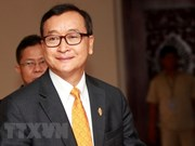 Cambodian court seizes Sam Rainsy's property