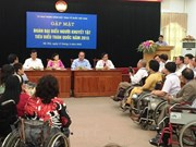 Project to enhance social inclusion of disabled people in Can Tho