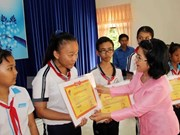 Vu A Dinh Scholarship Fund inspires poor students' dreams
