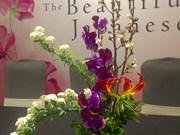 Japanese flower arrangements dazzle on display in Hanoi