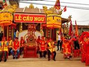 Quang Binh: Cau Ngu Festival of Canh Duong commune held
