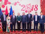 Officials applaud successful Vietnam-US relations in 2017