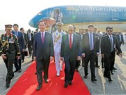 President arrives in Dhaka, beginning State visit to Bangladesh