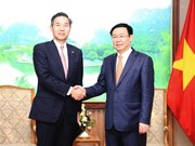 Deputy PM hosts Sumitomo Mitsui Bank's senior official