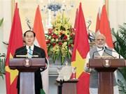 President Tran Dai Quang concludes India, Bangladesh visits